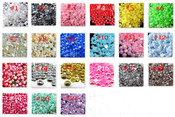3mm --- 1000 pieces flat back AB pearl cabochons --- lovekitty
