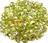 30 pcs Light Yellow Cut Back Mixed Sizes Gems -- by lovekitty