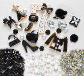 DIY Bling Bling Pieces Kawaii Resin Flatback Cabochons Cell Phone Case Deco Kit / Set Z394 -- lovekitty