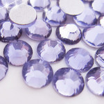 Dark Lavender -- Glass Rhinestone -- 1440 pcs / Pack Flatback Round High Quality --- lovekitty