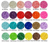 3mm 1000 pieces Solid Color Rhinestones for crafts --- by lovekitty