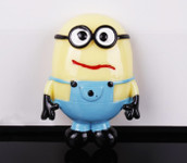 1 piece Large Minion Flatback Resin Cobochon Decoden Piece -- by lovekitty