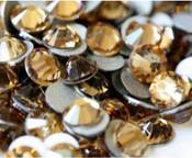 Light Topaz --- SS16 144 pcs ---  Crystal Flatback Rhinestone #2028  ---  lovekitty
