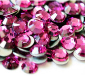 Fuchsia --- SS12 144 pcs ---  Crystal Flatback Rhinestone #2028  ---  lovekitty
