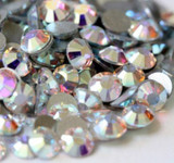 Crystal AB --- SS6 144 pcs ---  Crystal Flatback Rhinestone #2028  ---  lovekitty