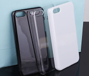 White  --- Iphone 5c Back Case  --- www.lovekittybling.com