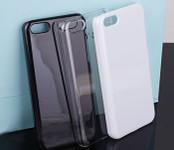Clear  --- Iphone 5c Back Case  --- www.lovekittybling.com