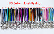 1 pc Short New Rhinestone Crystal Bling Bling Cell Phone Lanyard with Key Holder -- by lovekitty