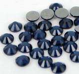 Ink Blue -- Hotfix Glass Crystal Rhinestone -- 1440 pcs / Pack Flatback Round High Quality Compare to SWAROVSKI