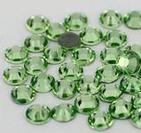 Light Green -- Hotfix Glass Crystal Rhinestone -- 1440 pcs / Pack Flatback Round High Quality Compare to SWAROVSKI