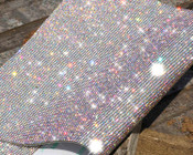 AB Clear - Glass Rhinestones Self Adhesive Applique / Sticker  Whole Sheet 2mm ( SS8 ) ---- by lovekittybling
