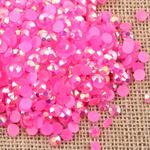 AB Rose Pink - 1000 2mm 3mm 4mm 5mm or 100 6mm Jelly AB Flatback Resin Rhinestones Candy Cab Nail Art / DIY Deco Bling Kit Embellishment-- lovekitty