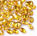 30 pcs Gold Cut Back Mixed Sizes Gems-- lovekittybling