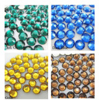 1000 pcs 4 Colors 3mm 5mm mixed Rhinestones Round Flatback 14-Facet 4 --- lovekitty
