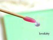 1 pc Pearl Cabochon & Rhinestone picker Jelly stick -- by lovekitty