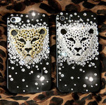 DIY  3D Gold Leopard  Bling Bling Resin Flat back Kawaii Cabochons Deco Kit Z237 --- www.lovekittybling.com