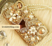 DIY 3D Golden Purse Resin Bling Bling Flat back Kawaii Cabochons Deco Kit / Set (not a finished product) Z206 -- lovekitty