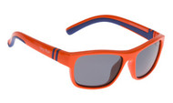 Ugly Fish Junior Polarised Sunglasses PK699 Orange Frame Smoke Lens