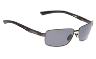 Ugly Fish Triacetate(TAC) Polarised Sunglasses PT24377 Gun Metal Grey Aluminium Frame Smoke Lens