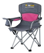 Oztrail Junior Deluxe Arm Chair Pink