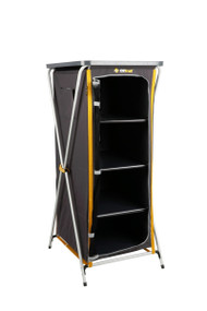 Oztrail Deluxe Folding 4 Shelf Cupboard