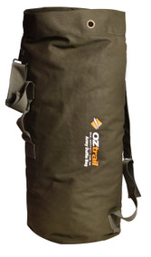 Oztrail Canvas Duffle Bag Army