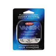 Berkley Vanish Fluorocarbon Leader Clear Fishing Line