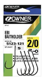 Owner EBI Baitholder Hooks (Pocket Pack)
