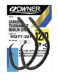 Owner Grander Circle Hooks (2 Pack)