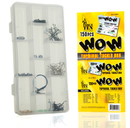 Force Ten 150 pcs WOW Terminal Fishing Tackle Box