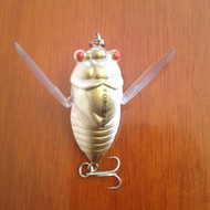 Force Ten Outback Fishing Lure Cicada Gold/white 40mm 5.7gm floating