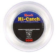 Momoi Hi-Catch 50m  Monofilament Fishing Leader 80 to 400lb