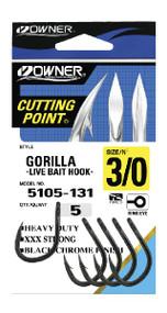 Owner Gorilla Live Bait Hooks