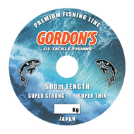 Gordons Bait and Tackle Mono Premium Fishing Line x 500mtr spools