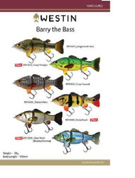 WESTIN BARRY THE BASS (HL/SB)FISHING LURE (BLUEBACK HERRING)