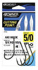 Owner Aki Bait Hook (Pocket Pack)