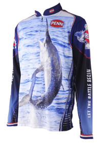 PENN Black Marlin Adult Fishing Shirt