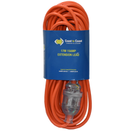 Coast 17M/15AMP Heavy Duty Extension Lead - LED Equipped