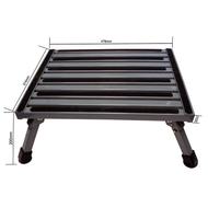 Coast Aluminium Folding Step W/Non Skid Platform