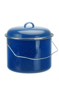 Oztrail 6L Billy Tin Enamel Coated