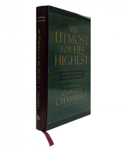 My Utmost for His Highest, Executive edition by Oswald Chambers