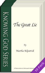 The great lie 10 pack by Martha Kilpatrick