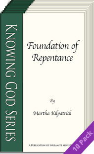Foundation of Repentance (10 Pack) by Martha Kilpatrick