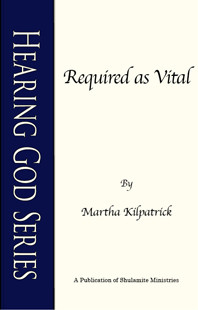 Required as Vital by Martha Kilpatrick
