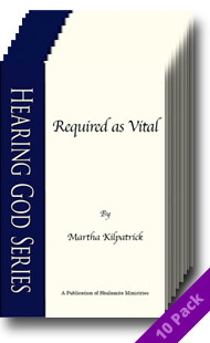 Required as Vital (10 Pack) by Martha Kilpatrick
