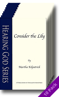 Consider the Lily (10 Pack) by Martha Kilpatrick