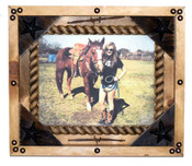 Shadowbox Style Rustic Pine Frame - Various Sizes Available