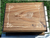 Cowgirl up jewelry box. great rodeo award