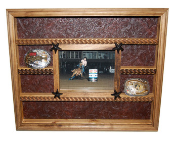 Buckle Display Great for Rodeo Awards and Barrel Racing Awards