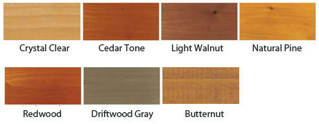 DEFY Extreme Wood Stain Available Colors